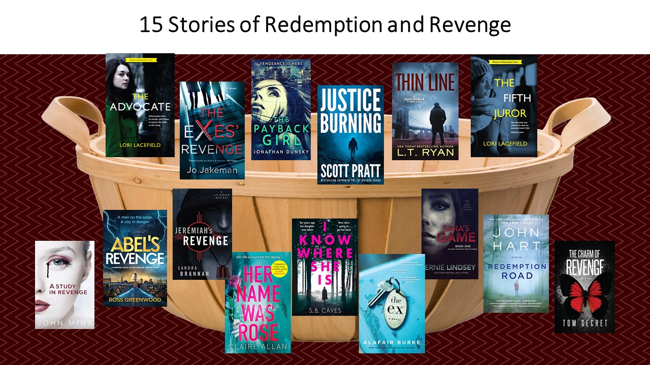 Redemption and Revenge Giveaway