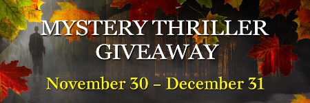 Mystery Thriller Giveaway