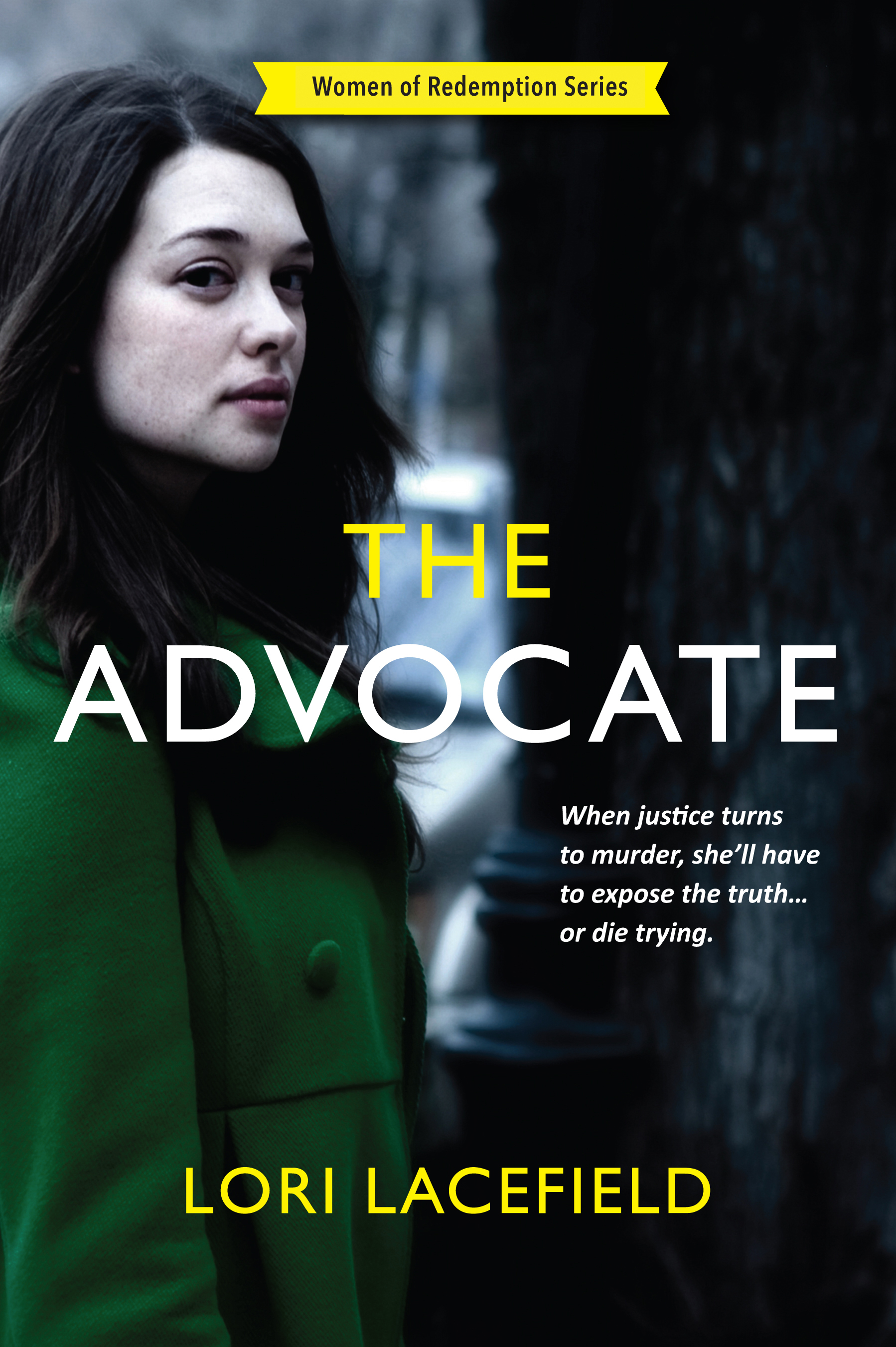 The Front Cover of The Advocate Book.